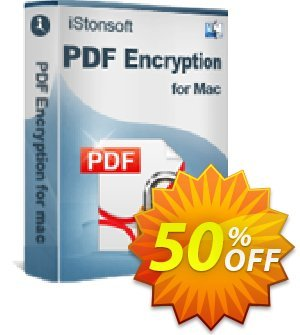 iStonsoft PDF Encryption for Mac discount coupon 60% off -