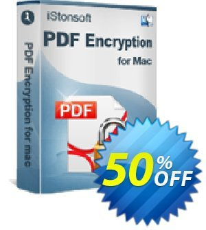 iStonsoft PDF Encryption for Mac Coupon, discount 60% off. Promotion: