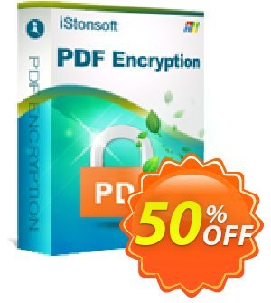 iStonsoft PDF Encryption Coupon, discount Affiliate 60% OFF. Promotion: