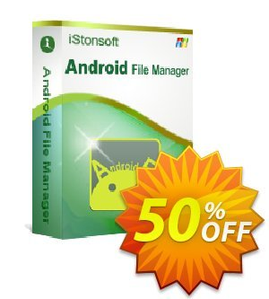 iStonsoft Android File Manager Coupon discount Affiliate 60% OFF -