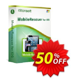 iStonsoft MobileRescuer for iOS 프로모션 코드 60% off 프로모션: