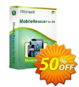 iStonsoft MobileRescuer for iOS Coupon discount 60% off. Promotion: