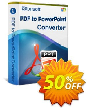iStonsoft PDF to PowerPoint Converter Coupon, discount Affiliate 60% OFF. Promotion: