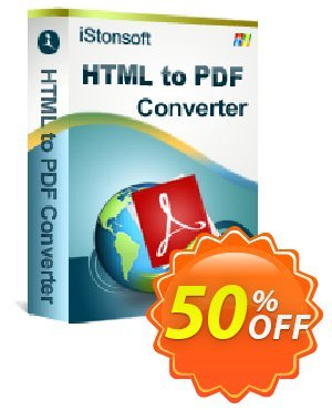 iStonsoft HTML to PDF Converter discount coupon 60% off -