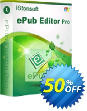 iStonsoft ePub Editor Pro Coupon, discount Affiliate 60% OFF. Promotion: