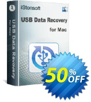 iStonsoft USB Data Recovery for Mac discount coupon 60% off -