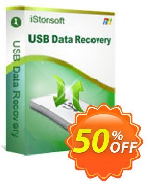 iStonsoft USB Data Recovery Coupon discount 60% off -