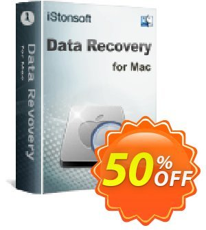 iStonsoft Data Recovery for Mac 프로모션 코드 60% off 프로모션: