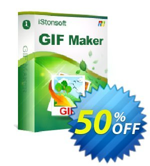 iStonsoft GIF Maker Coupon, discount Affiliate 60% OFF. Promotion: