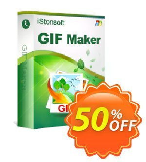iStonsoft GIF Maker Coupon, discount 60% off. Promotion: