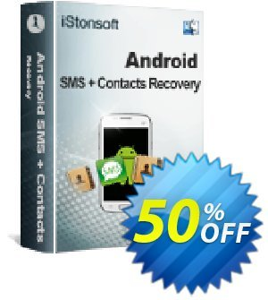 iStonsoft Android SMS+Contacts Recovery (Mac Version) Coupon, discount Affiliate 60% OFF. Promotion: