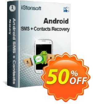iStonsoft Android SMS+Contacts Recovery (Mac Version) Coupon, discount 60% off. Promotion: