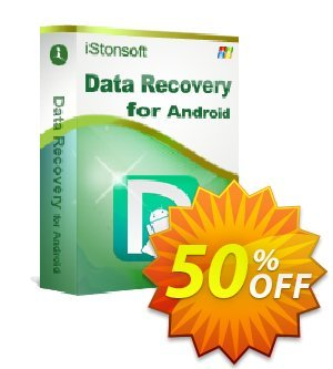 iStonsoft Data Recovery for Android 優惠券,折扣碼 60% off,促銷代碼: