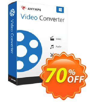AnyMP4 Video Converter Lifetime discount coupon AnyMP4 coupon (33555) -