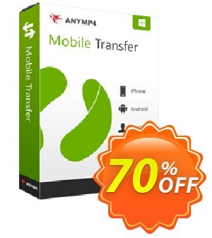 AnyMP4 Mobile Transfer 프로모션 코드 AnyMP4 coupon (33555) 프로모션: 50% AnyMP4
