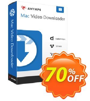 AnyMP4 Mac Video Downloader Coupon, discount AnyMP4 Mac Video Downloader stunning discounts code 2021. Promotion: 50% AnyMP4