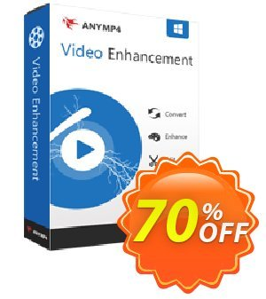 AnyMP4 Video Enhancement 優惠券,折扣碼 AnyMP4 coupon (33555),促銷代碼: 50% AnyMP4 promotion