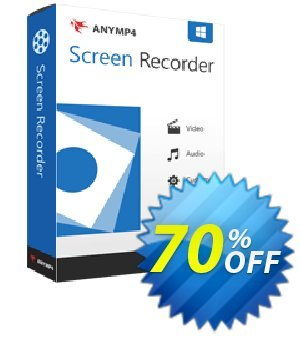 AnyMP4 Screen Recorder Coupon, discount AnyMP4 coupon (33555). Promotion: 50% AnyMP4 promotion