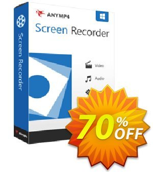 AnyMP4 Screen Recorder discount coupon AnyMP4 coupon (33555) - 50% AnyMP4 promotion