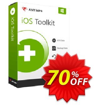 Get AnyMP4 iPhone Data Recovery + 6 Devices 40% OFF coupon code