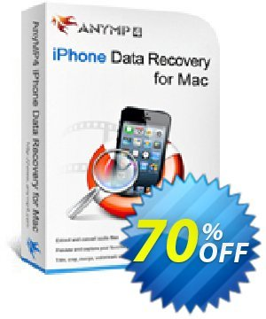 AnyMP4 iPhone Data Recovery for Mac + 6 Devices discount coupon AnyMP4 coupon (33555) - 50% AnyMP4 promotion
