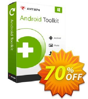 Get AnyMP4 Broken Android Data Recovery 40% OFF coupon code