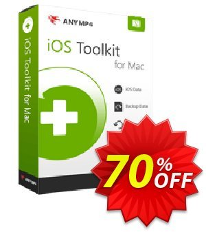 Anymp4 iOS System Recovery for Mac discount coupon AnyMP4 coupon (33555) - 50% AnyMP4 promotion