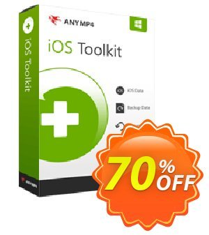 Anymp4 iOS Data Backup & Restore discount coupon AnyMP4 coupon (33555) - 50% AnyMP4 promotion