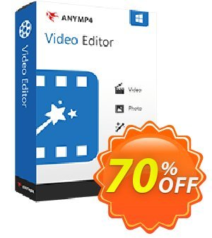 AnyMP4 Video Editor 프로모션 코드 AnyMP4 coupon (33555) 프로모션: 50% AnyMP4 promotion