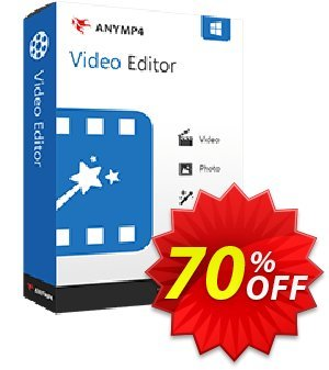 AnyMP4 Video Editor割引コード・AnyMP4 coupon (33555) キャンペーン:50% AnyMP4 promotion