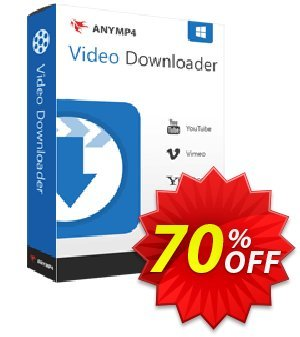 AnyMP4 Video Downloader Coupon discount AnyMP4 coupon (33555). Promotion: