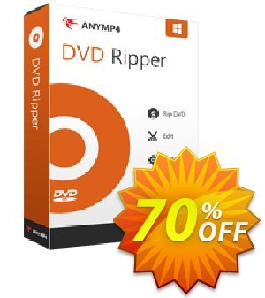 AnyMP4 DVD Ripper Coupon, discount AnyMP4 coupon (33555). Promotion: