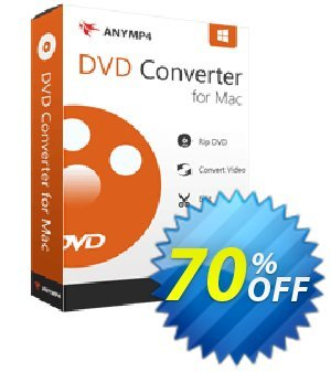 AnyMP4 DVD Converter for Mac Lifetime License Coupon, discount AnyMP4 coupon (33555). Promotion: 50% AnyMP4 promotion