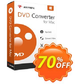 AnyMP4 DVD Converter for Mac Lifetime Coupon, discount AnyMP4 coupon (33555). Promotion: 50% AnyMP4 promotion