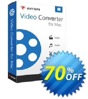 AnyMP4 Video Converter for Mac 優惠券,折扣碼 AnyMP4 coupon (33555),促銷代碼: