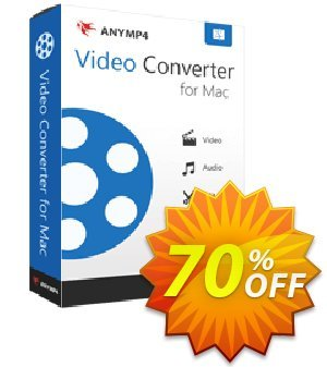 AnyMP4 MP4 Converter for Mac Lifetime  촉진