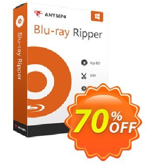 AnyMP4 Blu-ray Ripper Lifetime Coupon, discount AnyMP4 coupon (33555). Promotion: