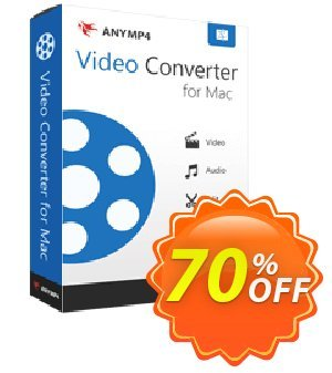 AnyMP4 Video Converter for Mac Lifetime discount coupon AnyMP4 coupon (33555) -