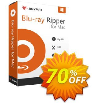 AnyMP4 Blu-ray Ripper for Mac Lifetime discount coupon AnyMP4 coupon (33555) -