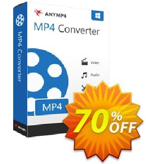 AnyMP4 MP4 Converter 優惠券,折扣碼 AnyMP4 coupon (33555),促銷代碼: 50% AnyMP4 promotion