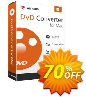 AnyMP4 DVD Converter for Mac Coupon, discount AnyMP4 coupon (33555). Promotion: 50% AnyMP4 promotion