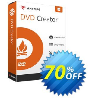 AnyMP4 DVD Creator Lifetime discount coupon AnyMP4 coupon (33555) -