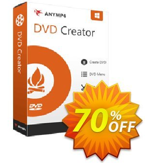 AnyMP4 DVD Creator Lifetime Coupon, discount AnyMP4 coupon (33555). Promotion: