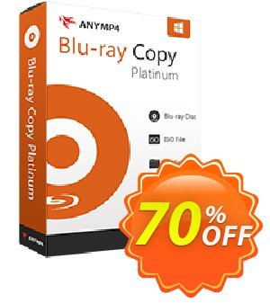 AnyMP4 Blu-ray Copy Platinum - Lifetime Coupon discount AnyMP4 coupon (33555)