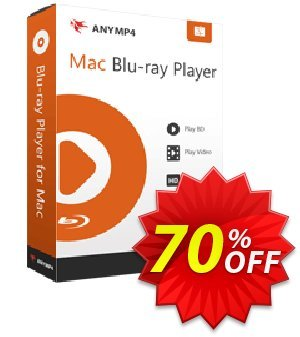 AnyMP4 Mac Blu-ray Player lifetime Coupon discount AnyMP4 coupon (33555). Promotion: