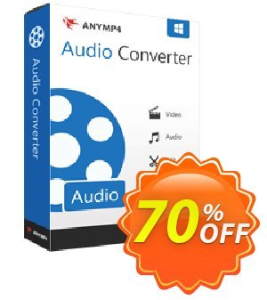 AnyMP4 Audio Converter Lifetime Coupon, discount AnyMP4 Audio Converter Lifetime coupon (33555). Promotion: