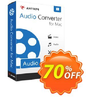 AnyMP4 Audio Converter for Mac Lifetime 프로모션 코드 AnyMP4 coupon (33555) 프로모션: