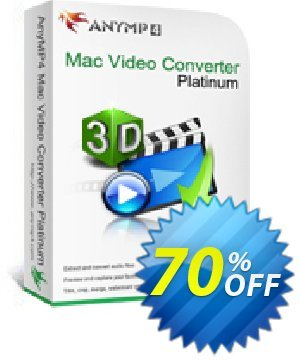 AnyMP4 Mac Video Converter Platinum discount coupon AnyMP4 Mac Video Converter Platinum exclusive promo code 2021 - exclusive promo code of AnyMP4 Mac Video Converter Platinum 2021