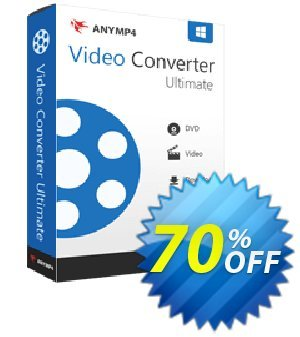 AnyMP4 Video Converter Ultimate lifetime Coupon, discount AnyMP4 Video Converter Ultimate lifetime coupon (33555). Promotion: 50% AnyMP4