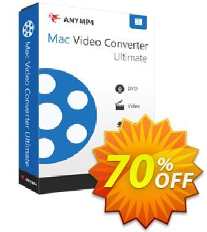 AnyMP4 Mac Video Converter Ultimate Lifetime discount coupon AnyMP4 coupon (33555) -